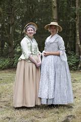 Ladies Of The 17th Century England (Mark Haddon Images) Tags: 1700sladies reenactment cannockchase ladies history