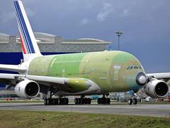 F-WWSB Airbus A380 Air France (@Eurospot) Tags: fwwsb fhpja airbus a380 toulouse blagnac airfrance