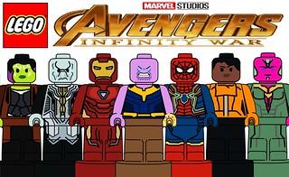 Custom Lego Avengers Infinity War Microfigures !!!