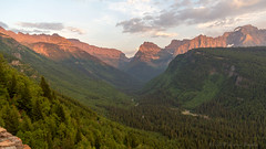 """Going to the Sun"" - Glacier National Park (Bruce Bugbee) Tags: glaciernationalpark goingtothesun glacier national park gnp evening light road overlook westglacier mt montana us usa"