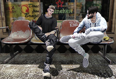 Cool to be Matty King 👑 (MATTY // *OMG*) Tags: sl secondlife look outfit new blog dope fresh cool lotd clothes clothing mesh male blogger themensdept tmd street urban hip hipster kicks sneakers sliders