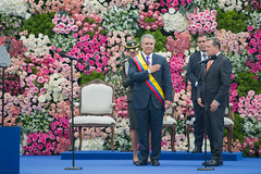 """Posesión Presidente de Colombia • <a style=""""font-size:0.8em;"""" href=""""http://www.flickr.com/photos/39526151@N07/30046986718/"""" target=""""_blank"""">View on Flickr</a>"""