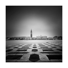 Everyrthing points to Venice (Nick green2012) Tags: venice longexposure blackandwhite square silence