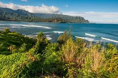 Princeville Resort on Hanalei Bay (karlsjohnson) Tags: bay coast hanalei hawaii hiking karl kauai landscape travel lihue usa