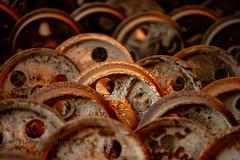 Old train wheels (Flemming Andersen) Tags: rusty wheels trainweels round old