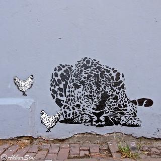 Den Haag Stencil Art