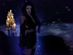 aura (JessicaNhah) Tags: witch magic darkness aura secondlife picmonkey goth gothic