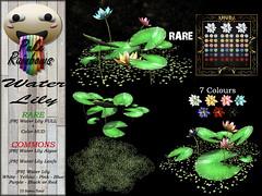 [PR] Water Lily - Gacha PIC (Puke Rainbows Store) Tags: puke rainbows sl second life pr mesh deco decor