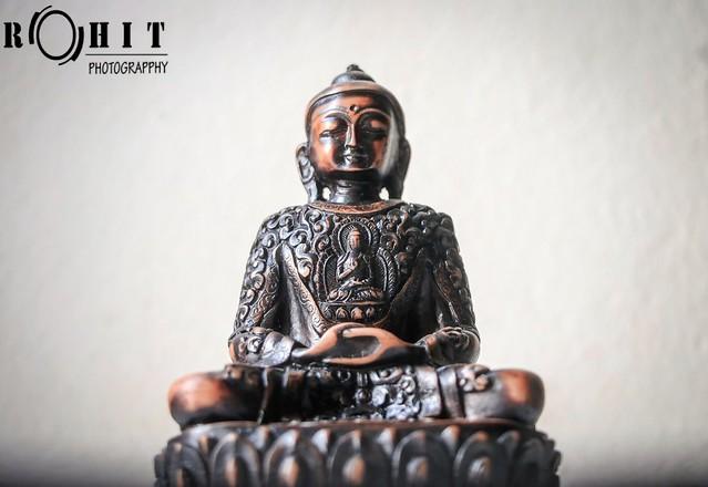 Sculpture of Lord Gautam Buddha.