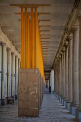 Royal Galleries (paul indigo) Tags: oostende ostend paulindigo colour dilapidated floor gallery historic perspective pillars rundown steel