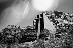 Sedona, AZ (cestlameremichel) Tags: bnw black white monochrome monochromatic argentique 35mm analog minolta konica dynax 40 rollei retro 80s usa roadtrip west america filmisnotdead analogue analogica contrast