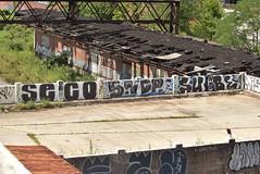 SECO SNDR SUBE (TheGraffitiHunters) Tags: graffiti graff spray paint street art colorful pa pennsylvania philly philadelphia bando abandoned building seco sndr sube
