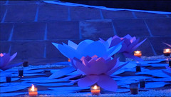 decorations_239 (Manohar_Auroville) Tags: auroville sri aurobindo gathering amphitheatre matrimandir bonfire dawnfire birthday manohar luigi fedele