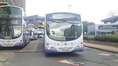 Photo of First Bradford Volvo B7L Wright Eclipse Metro YG02 DHV 60907