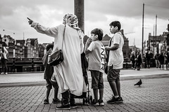 that way (Gerard Koopen) Tags: nederland netherlands amsterdam capital city people woman child children candid streetlife straatleven bw blackandwhite blackandwhiteonly straat street straatfotografie streetphotography fujifilm fuji xpro2 56mm 2018 gerardkoopen gerardkoopenphotography