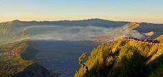 Sunrise over Mount Bromo (somabiswas) Tags: mount bromo java island indonesia sunrise