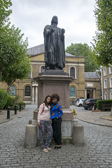 DSC_6680 John Wesley's Chapel City Road London with Alesha from Jamaica and Tricia from Ghana Two Beautiful Ladies (photographer695) Tags: john wesley's chapel city road london with alesha from jamaica tricia ghana two beautiful ladies