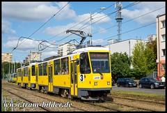 249-2018-08-21-1-Smolanska (steffenhege) Tags: stettin polen strasenbahn streetcar tram tramway ckd t6a2m 249