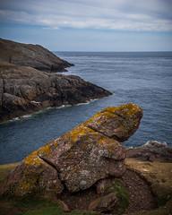 Rock on the western tip of the Llyn Peninsula (G. Warrink) Tags: wales visitwales cymru findyourepic lovewales beautifulwales discoverwales llynpeninsula sea coast rocks water shore mynyddmawrcoastguardshut