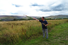 DAD 2018 01 (Photography by Andy P) Tags: flowers gesture anniversary remembering dad rest peace derbyshire hills glossop scattered