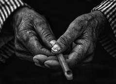 Tameslohte, Morocco (.Betina.) Tags: hand hands old pipe 2018 morocco betinalaplante bb portrait portraiture blackandwhite monochrome mood mono moody market artisan
