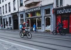 Gent (mariuszpawel) Tags: gent belgium belgique nikon sigma street europe people lensculture magnumphotos views paning moving bicycle transport bike city disable