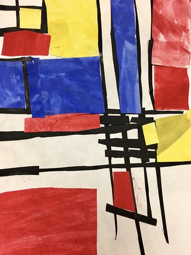 "Every year I get new favorites with this #kindergarten #pietmondrian  inspired painted paper gridded #collage ❤️❤️  They have such an amazing lyricism at this age that I admire so much. Want em all! • <a style=""font-size:0.8em;"" href=""http://www.flickr.com/photos/57802765@N07/42086993640/"" target=""_blank"">View on Flickr</a>"