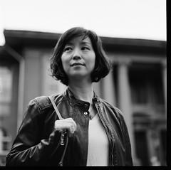 000913110011 (Steven Tsai (正港蔡爸)) Tags: hasselblad501c hasselblad planar128f80mm shanghaigp3100 expiredfilm bw mediumformat analog film filmphotography