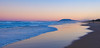 Pacific Dusk (Claude Downunder) Tags: sunset pacific pacificocean portmacquarie lighthousebeach northbrother ocean sea waves water sky dusk beach panorama sand mountain pastel