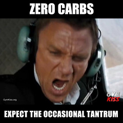 Zero Carbs - Expect The Occasional Tantrum (GymKiss) Tags:
