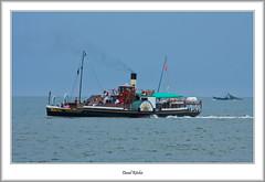 PS Kingswear Castle Underway (flatfoot471) Tags: 2016 70300canon boats devon england july kingswear merchant normal paddlesteamer pskingswearcastle riverdart ships summer unitedkingdom gbr