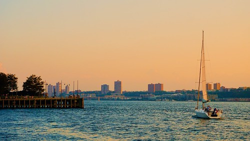 On the Hudson North -  Chelsea Piers, New York City