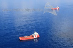 VOS PATIENCE and VOS PARTNER offshore Malta - 21.06.2018 - www.maltashipphotos.com (Malta Ship Photos & Action Photos) Tags: sea malta ship offshore aerial dutch vroon psv platform supply vessel bahr essalam oilfield