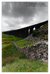 Ribblehead Viaduct (ScudMonkey) Tags: copyrightc2018 paulbradley ribbleheadviaduct northyorkshire settletocarlisle railway heritage drystonewall limestone cloud moody landscape canon 5dmkiv ef1740mmf4l lee 09gnd