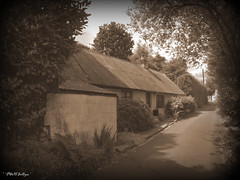 """ Well Remembered Days "" ("" P@tH Im@ges "") Tags: cottage story biddybegglington dance couple old"