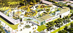 1964 New York World's Fair, Sinclair Dinoland 03 (gameraboy) Tags: sinclair dinoland dinosaur vintage 1964 1960s 1964newyorkworldsfair worldsfair