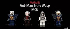 Ant-Man & the Wasp MCU (L1n6zz) Tags: ghost wasp marvel lego antman