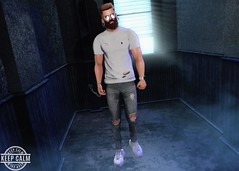 Safe (Brendo Schneuta) Tags: exalted ripped burley taketomi hair shirts volkstone beard facial nexor glasses chuck pants equal10 valekoer sneakers vuk poses pose photoshop cigarette game avatar mancave access backdrop belleza secondlifeblog second sl secondlife blog blogger bloggersl men mens male moda style estilo fashion keepcalm