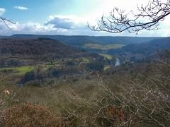 Sauer (sander_sloots) Tags: sauer river landschap landscape sûre rivier view luxembourg luxemburg trees forest hills heuvels bomen bos clouds wolken