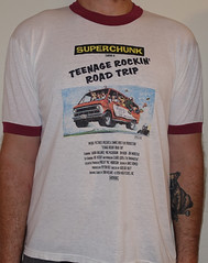 #3077A Superchunk - Teenage Rockin Road Trip (Minor Thread) Tags: minorthread tshirtwars tshirt shirt vintage rock concert tour merch white ringer punk superchunk teenagerockinroadtrip macmccaughan merge records 1994 jonwurster