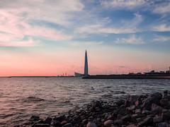 Lakhta Center (kishjar?) Tags: saint petersburg sea stones skyscraper skyline