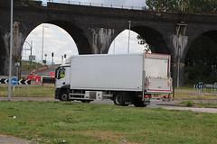 F1656  PO18 XXU (Barrytaxi) Tags: eddie stobart transport widnes tesco rigid