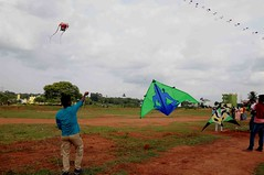 DSC_9705 (rajashekarhk) Tags: doddaballapura kitefestival kite kiteflying bengaluru colours culture karnataka southindia festival travel tourism travalphotography nikon natural sky blue clouds rajashekar hkr enjoy evening