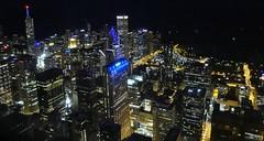 Looking East Down on the Loop (Spebak) Tags: spebak sony illinois chicago loop downtown skyline skyscraper skydeck pointandshoot ight lights lakemichigan