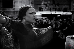 sentimiento_2 (bit ramone) Tags: flamenco baile dance music música gipsy gitano bn bw andalucía pasión passion woman mujer jerez jerezdelafrontera anamarga gente monocromático bitramone bestportraitsaoi
