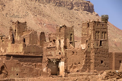 2018-4460 (storvandre) Tags: morocco marocco africa trip storvandre telouet city ruins historic history casbah ksar ounila kasbah tichka pass valley landscape