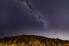 Milky Way over a Mountain (Merrillie) Tags: science galaxy natural landscape milkyway starry nature australia nighttime star stars astro space nsw starlight mars astronomy planetary outerspace vast planet universe sky night nightscape astrology astrophotography mountain
