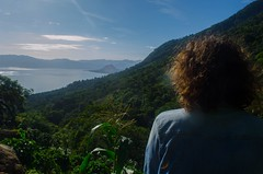 View before the hike up Volcán San Pedro (hope_fie) Tags: curly hair guatemala san pedro volcano mountains lake atitlan nature plants adventure explore exploration world country international nikon d5100