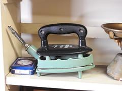 The Rythm Gas Iron c. 1935 (Cold War Warrior) Tags: radiation gas appliance gasiron household kitchenalia