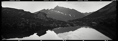 (Eirik Holmøyvik) Tags: panoramic panorama mountain norway 6x17 wide lake kodak tmax chamonix largeformat schneider film analog analogue landscape reflection filmisnotdead